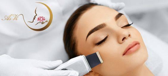 Ultragarsinis veido valymas – kas tai?